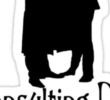 The Consulting Detective and His Army Doctor Sticker