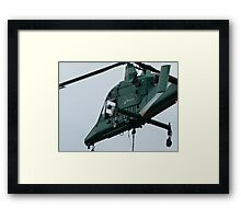 KMAX Heavy Lift Helicopter Framed Print