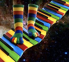 MUSICAL SOCKS by Elizabeth Giupponi