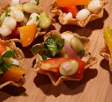Hominy Salad Scoops by keeganspera