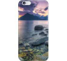 Elgol evening iPhone Case/Skin