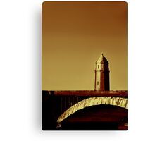 A Bridge of Two Cities Canvas Print