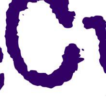 ECU - Purple Sticker