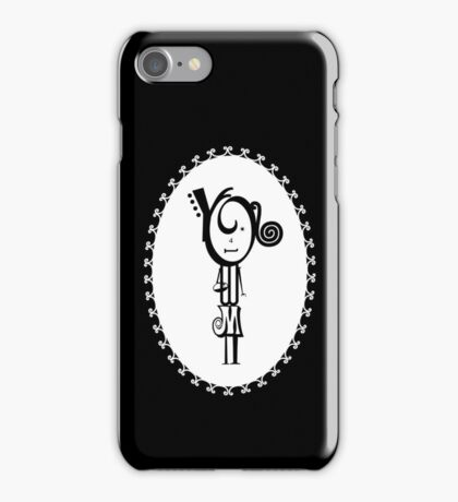 The Letter Girl iPhone Case/Skin