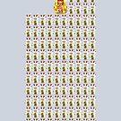 108 Money Cats by Kim  Lynch
