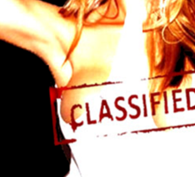 Classified - hoT-shirt Sticker