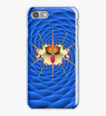 Qalyub Bug on Blue iPhone Case/Skin