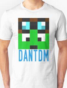 DanTDM Face Mine Youtube Gamer Craft T-Shirt