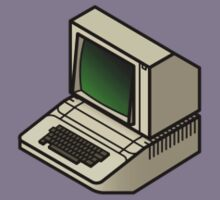 The Classic Apple ][ (on your breast) Kids Clothes