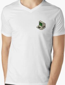The Classic Apple ][ (on your breast) Mens V-Neck T-Shirt