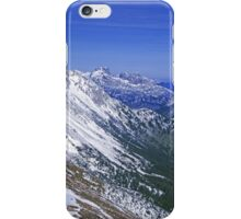 High Alps Panorama iPhone Case/Skin