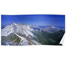 High Alps Panorama Poster
