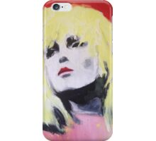 Blondie Pop Art Painting by William Wright iPhone Case/Skin
