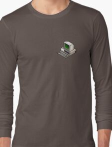 IBM PC 5150 (on your breast) Long Sleeve T-Shirt