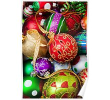 Assorted beautiful ornaments Poster