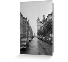 Mosque of Cordoba Wall Greeting Card