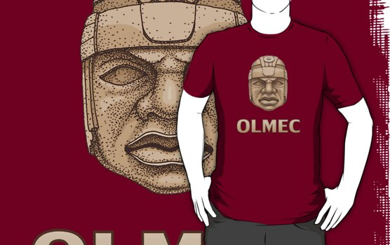 Olmec Head by Ninjangulo