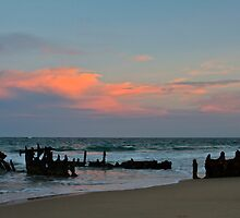 Sunset at the SS Dicky by Sea-Change