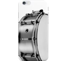 brushed aluminum snare iPhone Case/Skin