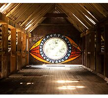 """All seeing Eye"" Abandoned Factory Photographic Print"