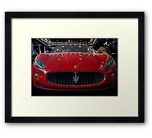 Maserati  Framed Print