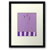 Small bunch of lavender Framed Print