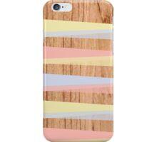 Wood triangulate iPhone Case/Skin