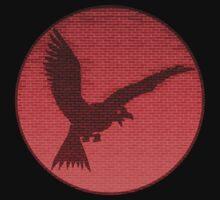 Bird on Brick by Ninjangulo