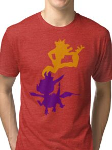 Spyro and Crash Tri-blend T-Shirt