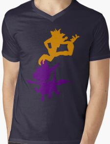 Spyro and Crash Mens V-Neck T-Shirt