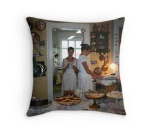 Coffee and sweets Throw Pillow