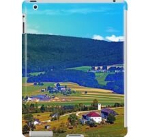 Some boring autumn scenery iPad Case/Skin