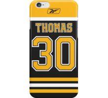 Boston Bruins Tim Thomas Jersey Back Phone Case iPhone Case/Skin