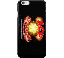 Ace Explosives and Demolition Supplies iPhone Case/Skin