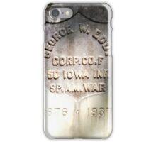 George W. Eddy iPhone Case/Skin