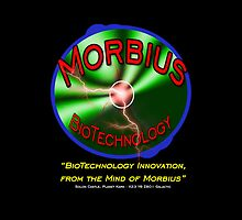 Morbius BioTechnology Black Background (Doctor Who) by SOIL