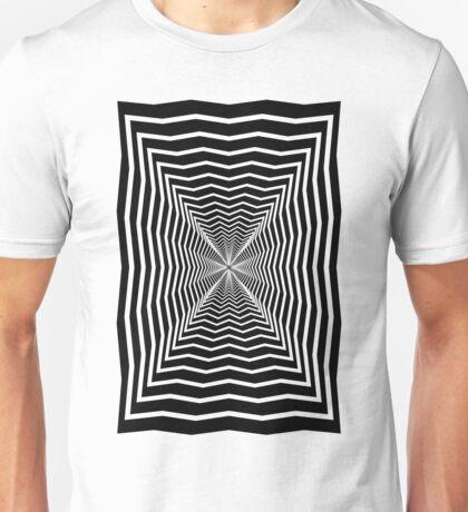 Crinkled Radial Unisex T-Shirt