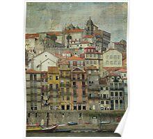 Texturing Porto Poster