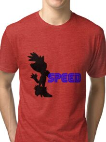 Speed Type: Blaze Tri-blend T-Shirt