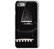 Let The Music Heals Your Soul (Black) iPhone Case/Skin