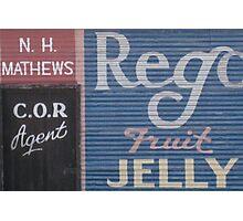 Typography - 1 Photographic Print