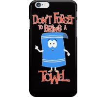 Towelie Funny South Park iPhone Case/Skin