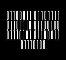 <Code of Conduct> Binary Barcode by 0cdc