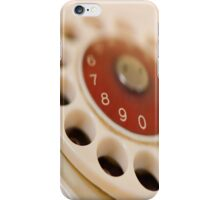 dial-up iphone case iPhone Case/Skin
