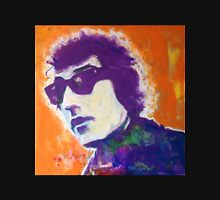 Bob Dylan Pop Art Portrait -Painting by William Wright Unisex T-Shirt