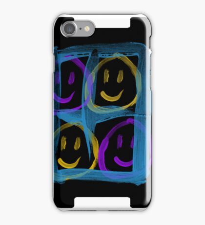 Happy window iPhone Case/Skin