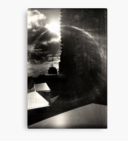 Rooftop Singularity Canvas Print