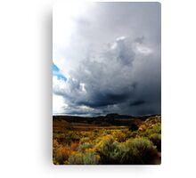 Utah Storm Canvas Print