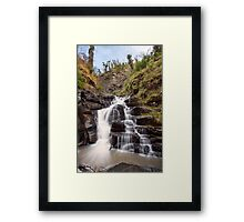 Gorge Cascades Framed Print