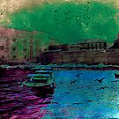 The Essence of Croatia - The Old Harbour at Dubrovnik by Igor Shrayer